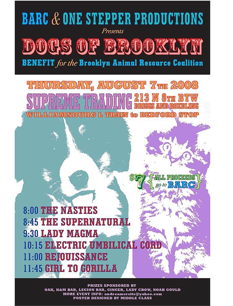 BARC benefit poster